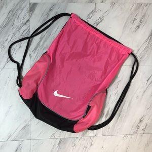 Nike Pink/Black Nylon Backpack